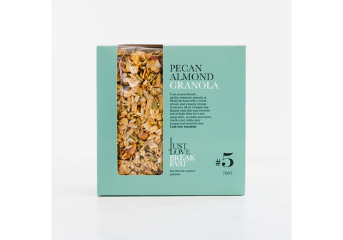 I Just Love Breakfast Fanbox granola #5 Pecan-Almond (700g)