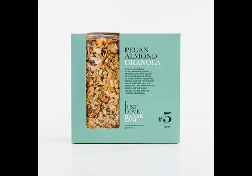 I Just Love Breakfast Fanbox granola #5 Pecan-Almond (700g)