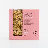 Handgemachtes BIO-Granola # 7 Cashew-Banana Fanbox (700g)
