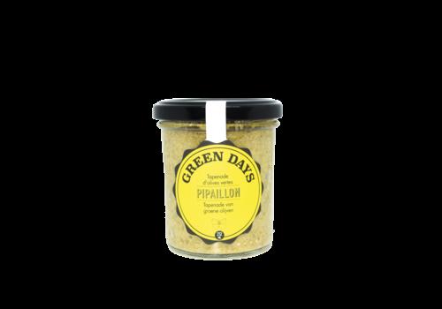 Pipaillon Tapenade van groene olijven (212ml)