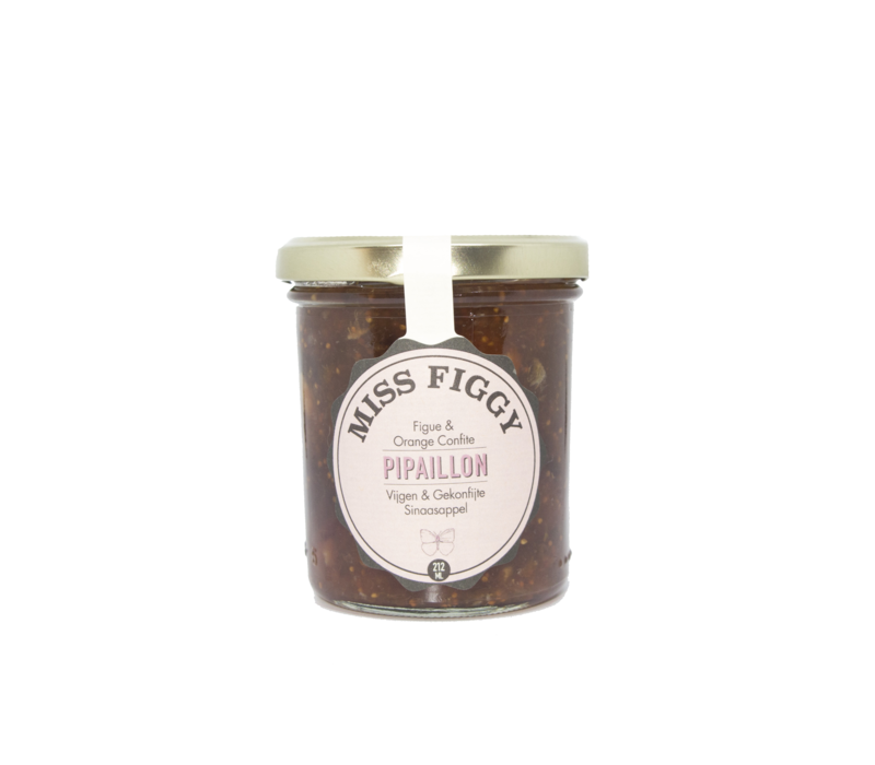 Miss Figgy handgemachte Feigenmarmelade (212ml)