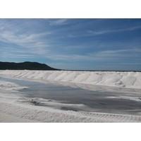 Mini keramische zoutpotje Fleur de Sel zeezout (28g)
