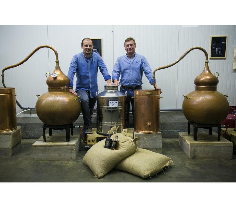 Belgischer, handgemachter gin CLASSIC (500ml)