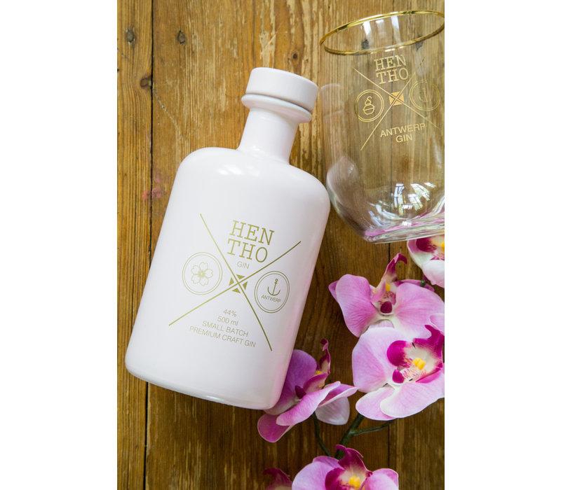 Belgische, handgemaakte gin PINK (500ml)