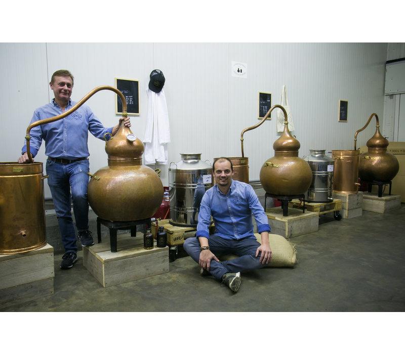 Belgische, handgemaakte rum (700ml)