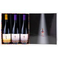 Elegante wijnkoffer L'Equilibrista (3 x 75cl)