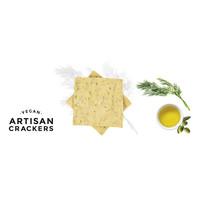 Handgemaakte vegan crackers met dille (130g )