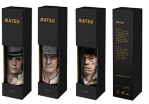 Matsu Flaschentasche für 1 Flasche Wein