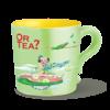 Or Tea? Keramieken theemok CubaMint met filter van roestvrij staal
