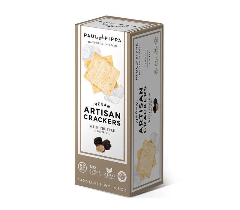 Handgemaakte vegan crackers met truffel (130g)