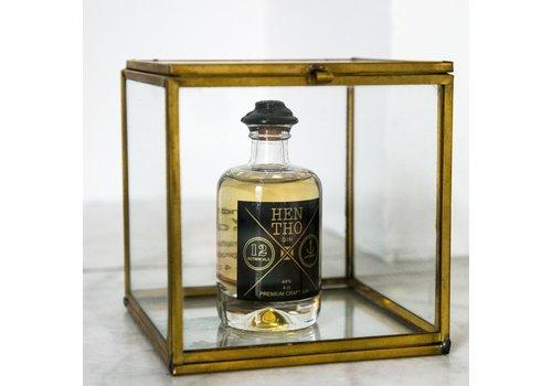 HenTho Spirits Miniflesje handgemaakte gin CLASSIC (40ml)