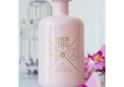 HenTho Spirits Miniflesje handgemaakte gin PINK (40ml)