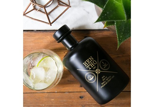 HenTho Spirits Miniflesje handgemaakte gin NOAH (40ml)