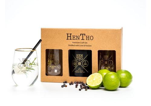 HenTho Spirits Geschenkbox Gin NOAH (500ml)