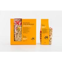 Handgemaakte BIO granola #8 Aardbei Mango crunch (250g)