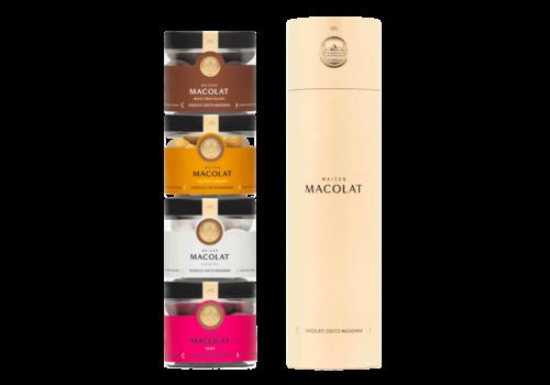 Maison Macolat Tower Giftset 4 jars (4x100g)