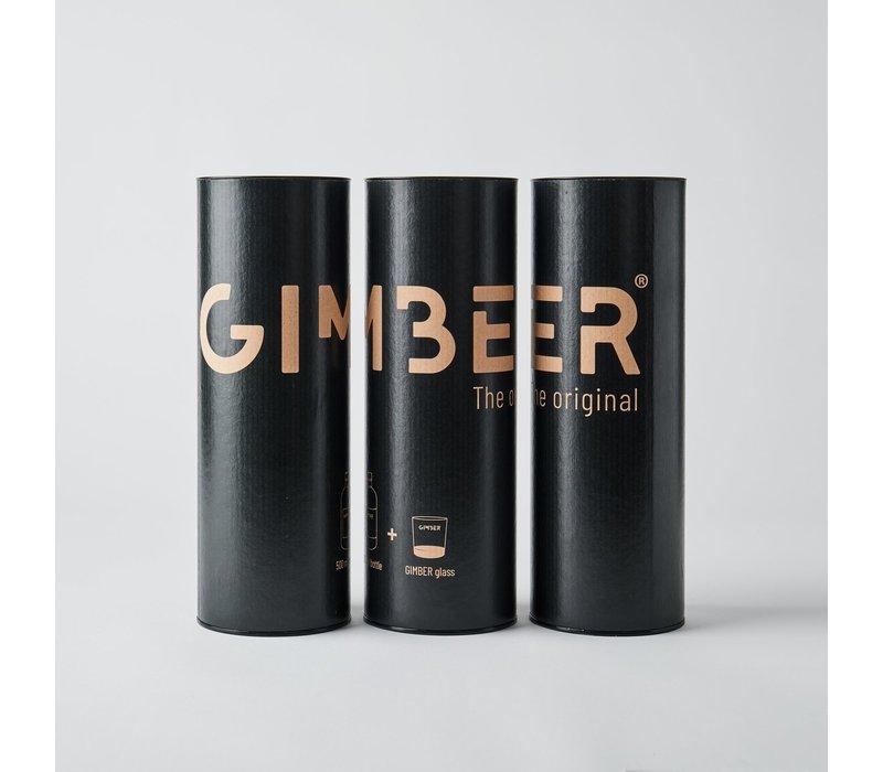 Belgisch BIO gember Giftbox met glas