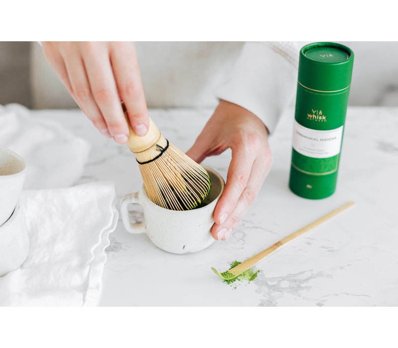Bambusschläger für Matcha