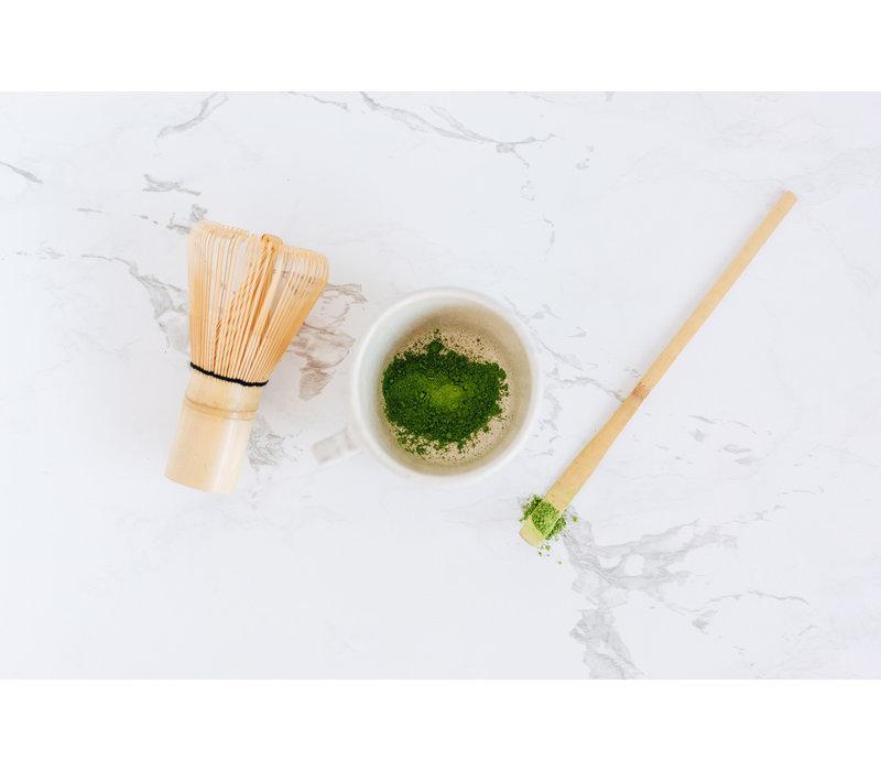Bamboe klopper voor matcha