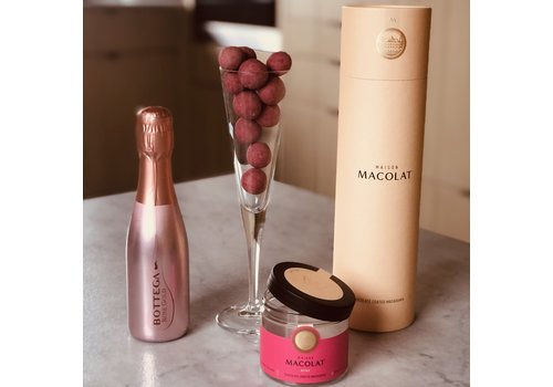 Maison Macolat Pairing Geschenkbox Rosé prosecco