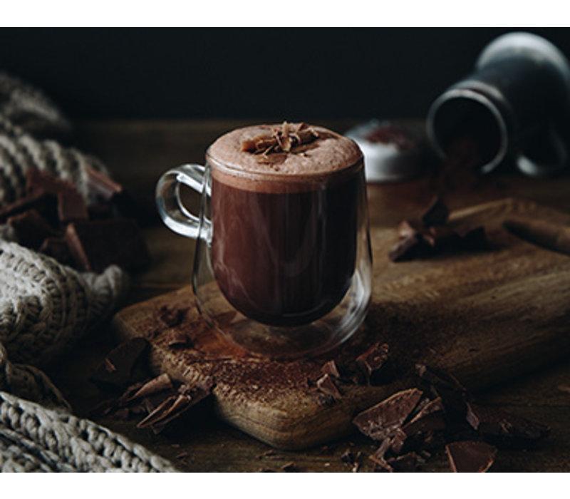 Warme spicy en vegan chocolade uit Londen (350g)