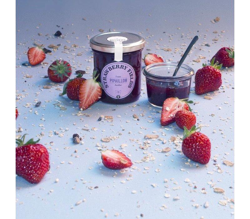 Strawberry Fields handgemaakte confituur van aardbeien (212ml)