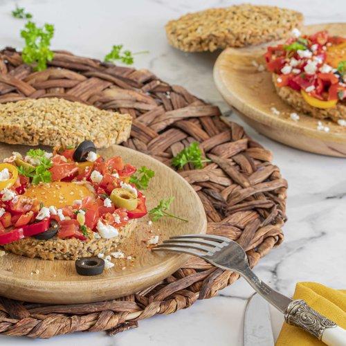 Osterbrötchen mit HighFibe und Dukkah
