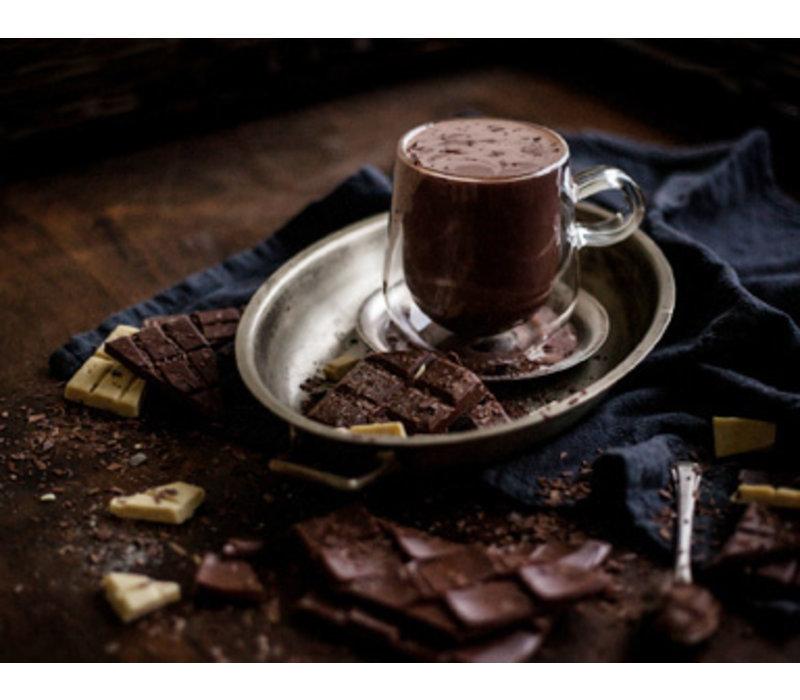 Warme vegan chocolade uit Londen (350g)