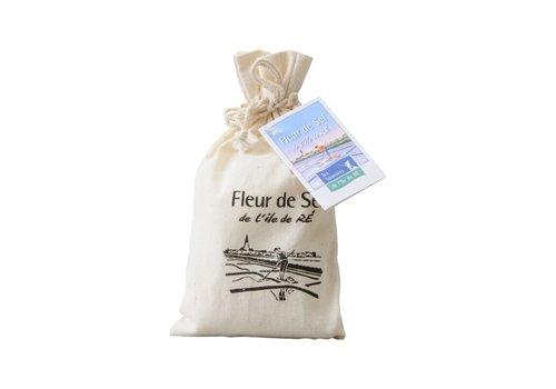 Les Sauniers de l'Ile de Ré Zakje Fleur de Sel zeezout (143g)