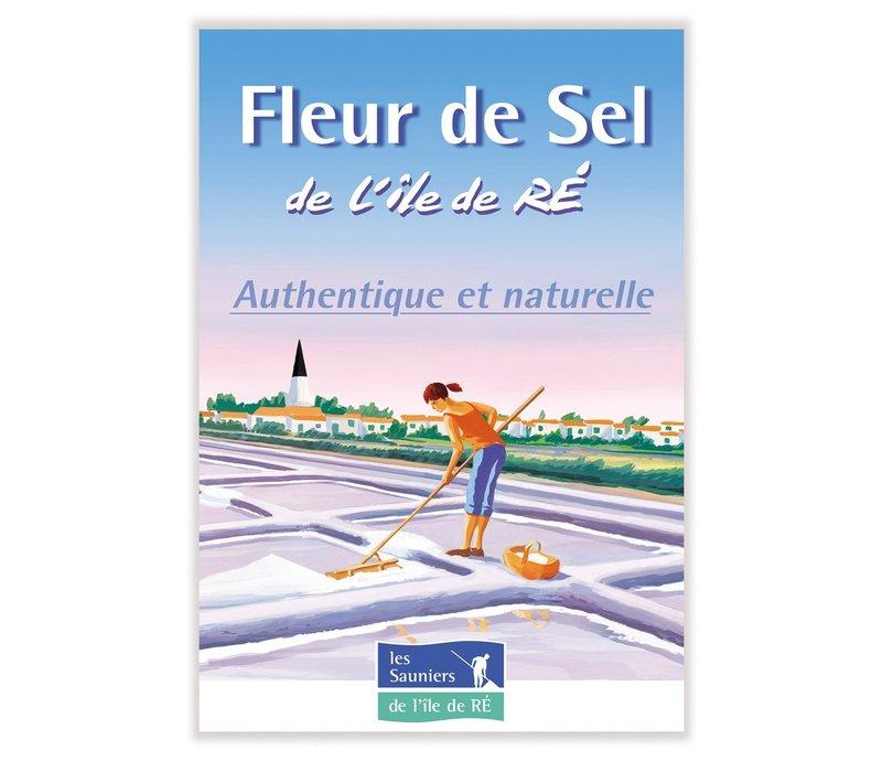 Zakje Fleur de Sel zeezout uit Ile de Ré (143g)