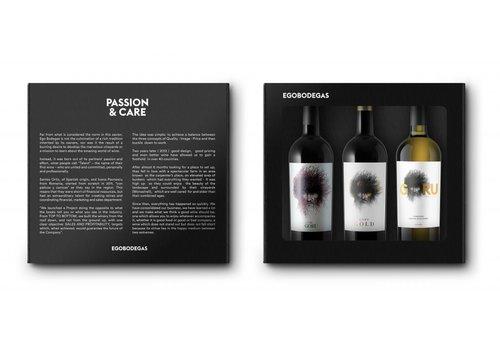 EGO Bodegas Geschenkpakket Spaanse wijn (3 x 75cl) - El Goru