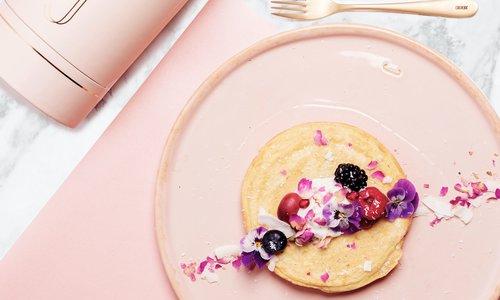 Fluffy vegan (soja) pancakes von Cocotine