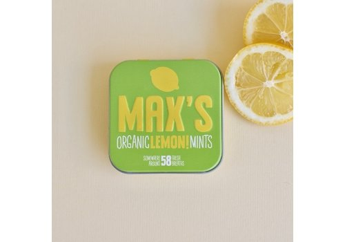 Max's Organic Mints LEMON (35g)