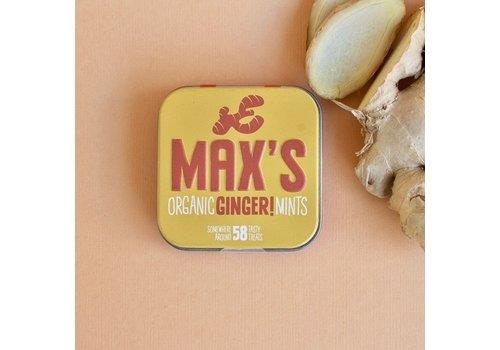 Max's Organic Mints GINGER (35g)