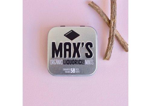 Max's Organic Mints LIQUORICE (35g)