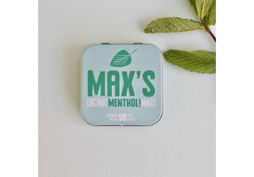 Max's Organic Mints MENTHOL (35g)