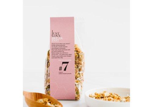 I Just Love Breakfast Granola #7 Cashew-Banana (250g)