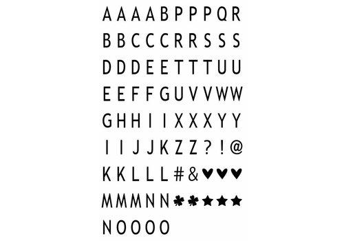 LEDR® LEDR® - 85 letters & symbols  A3 & A4