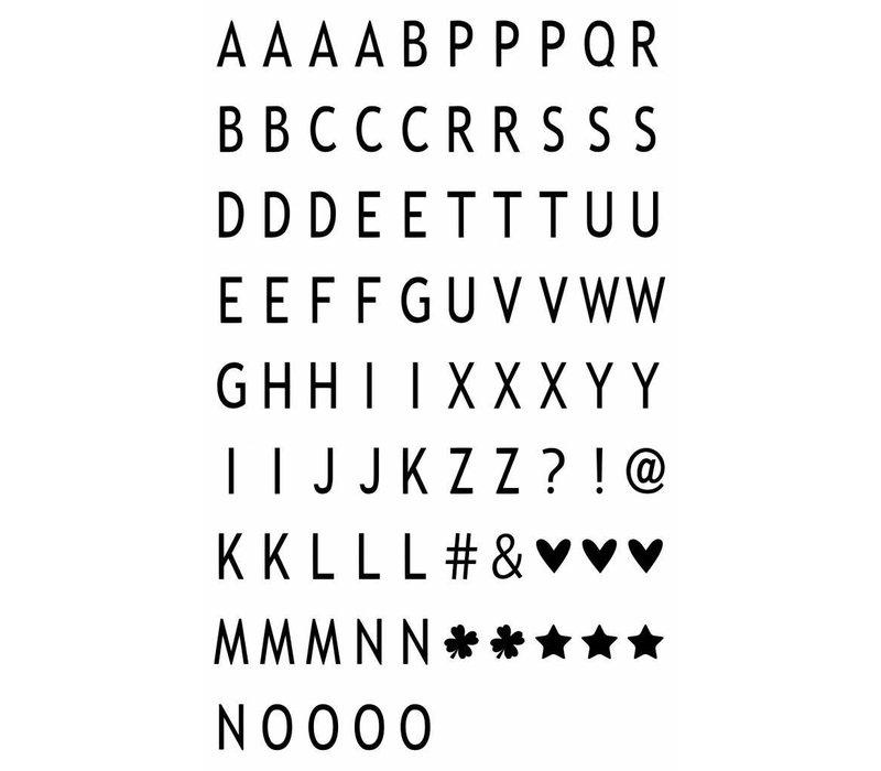 LEDR® - 85 letters & symbolen A3/A4