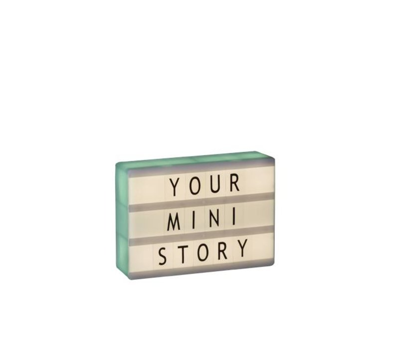 Lightbox A6 - Mint