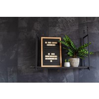 Oldschool Letter board - 30 x 45 - Black