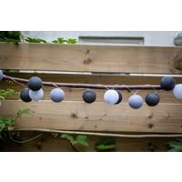 Feestverlichting voor buiten | Gris | 20 ballen