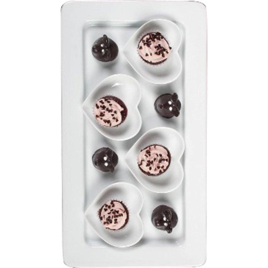 GN-Behälter, Porzellan, 20mm tief GN-Behälter, Porzellan
