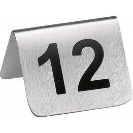 Tischnummern Set Tischnummern Set 1-12