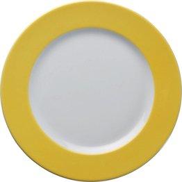 Teller flach Ø 26 cm gelb