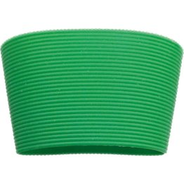 Silikonbanderole für Coffee to Go Becher Silikonbanderole grün, zu 0,2L