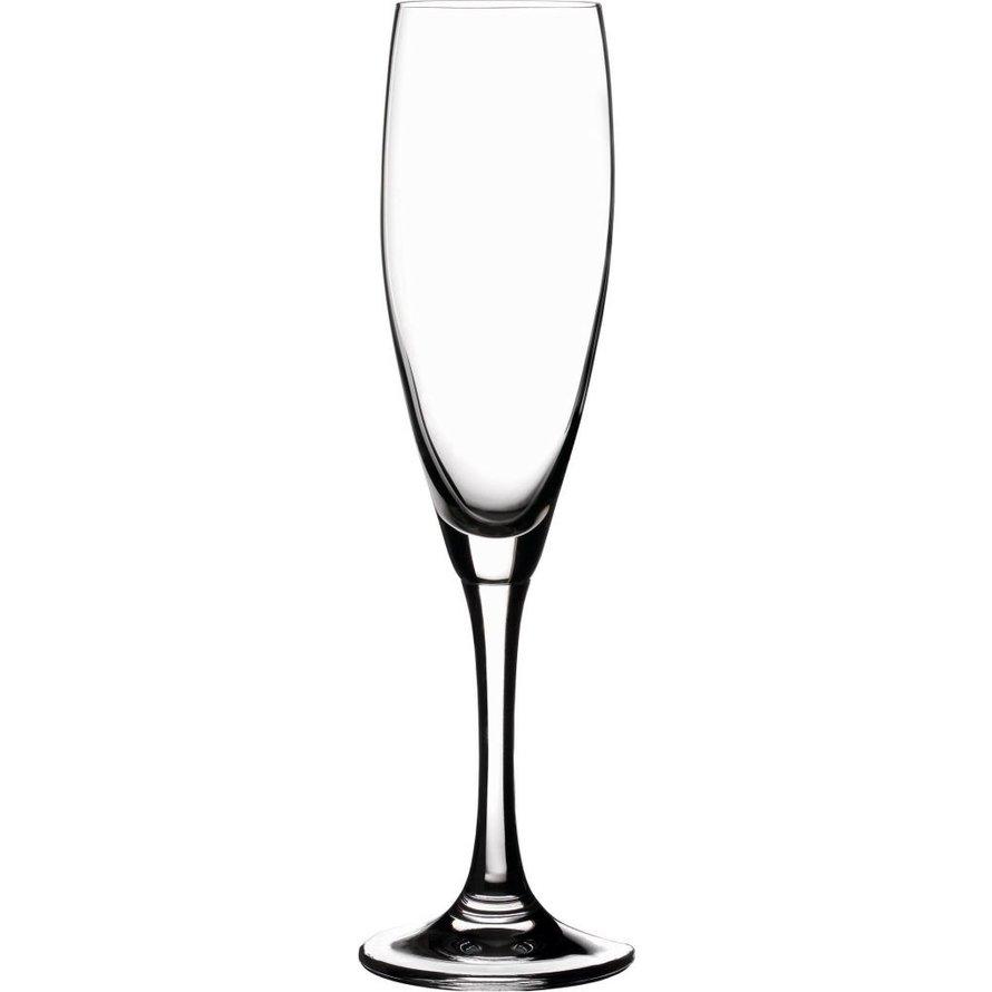 """Glasserie """"Viana"""" Sektkelch 210ml  mit Füllstrich"""