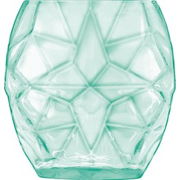 "Glasserie ""Prezioso"" Glas grün transparent 40cl"