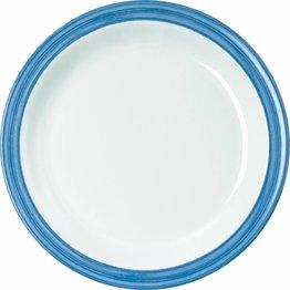 """Teller flach """"Colour"""" Ø19,5cm Melamin  blau"""