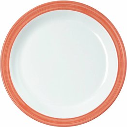 """Teller flach """"Colour"""" 19,5 cm orange"""